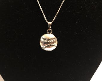 Softball necklace