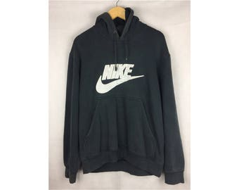 NIKE Hoodies Long Sleeve Hoodies Medium Size Hoodies With Big Spell Out Embroidery Logo