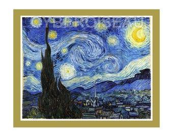 Magnet Vincent Van Gogh's starry night