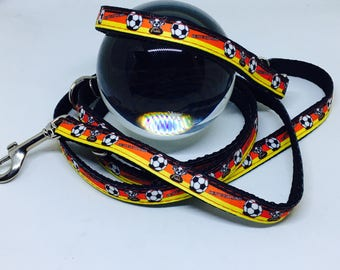 "Leash lead ""Football"" 14 mm width 230 cm"