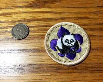 Boy Scouts BSA Patch - World Conservation Award Merit Badge Panda
