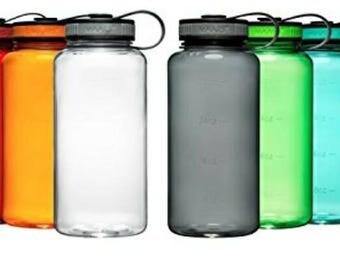 34 fl oz customized tritan water bottle