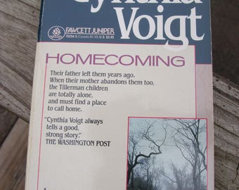 HOMECOMING by Cynthia Voigt (1993) ~ PB ~ A Tillerman Family Novel