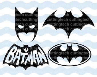 Batman logo , face sign  svg, eps , corel draw , clipart . Ready for print , plot. Marvel superhero sign.