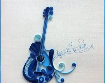 Guitar Card/L013, L014