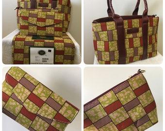 vlisco wax hollandais fabric collections in 4 pieces