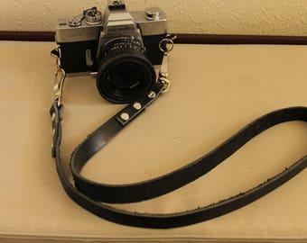 Minimalist Leather  Camera Strap