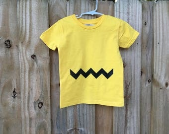 Charlie Brown Shirt/ Halloween/ Halloween Shirt/ Snoopy and Charlie Brown/ toddler- adult