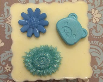 Flower Mold and Teddy bear