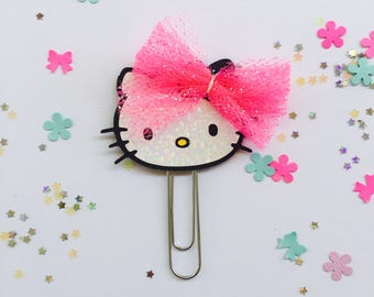 cute kitty paper clip