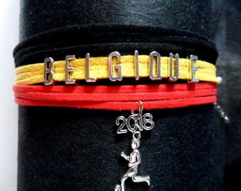 Global 2018 bracelet Belgium football World Cup