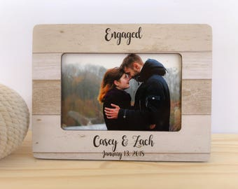 Personalized Engagement Frame. Proposal Frame. Engagement Party Gift. Engagement Frame Engagement Gift Fiance Personalized Gift