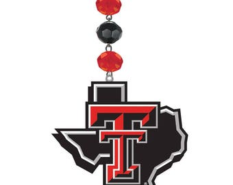 TEXAS TECH Red Raiders *Logo* Magnetic Ornament,Texas Tech football,Red Raiders,Texas Tech Ornaments,Red Raiders Gifts,TTU,Lubbock