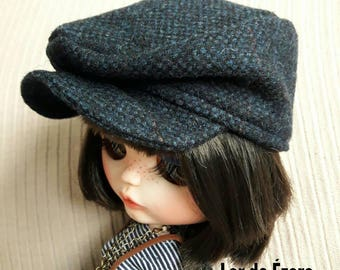 Cap hipster hat for blythe doll