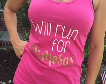 Mimosas Tank Top, Workout Clothes, Running