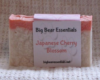 Japanese Cherry Blossom Scented Soap
