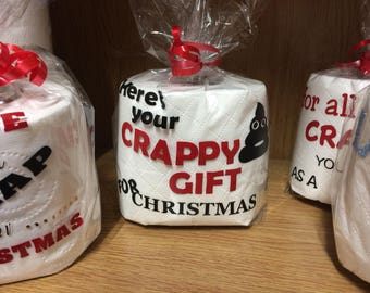 Novelty Toilet Roll Christmas Gift Secret Santa Crap gift
