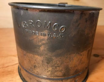 Vintage Bromco 1950's Flour Sifter