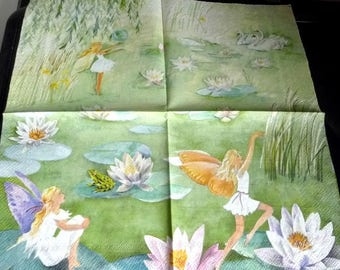 Paper towel 4 fairies