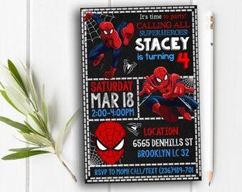 Spiderman Invitation, Spiderman, Spiderman Party, Spiderman Printable, Spiderman Invite, Spiderman Birthday Party, Spiderman Card, Spiderman