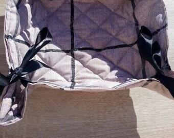 Basket rolls, bread basket, fruit basket, basket with paper towels, baskets, a fruit basket is handmade, fabric basket