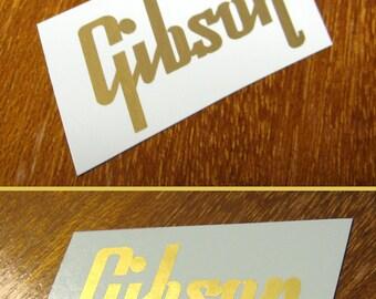 Gibson Waterslide Headstock Decal Les Paul Es 125 es 335 es 175 Vintage guitar parts