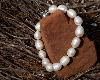 South Pacific Pearl Bracelet by VICTORIA LEONS COUTURE
