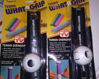 Whatagrip for tennis racquet