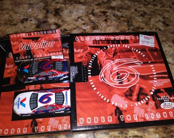 2000 racing chamions under the lights valvoline NASCAR race car
