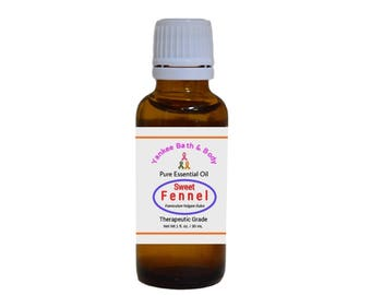 Sweet Fennel Essential Oil Therapeutic Grade Free Shipping