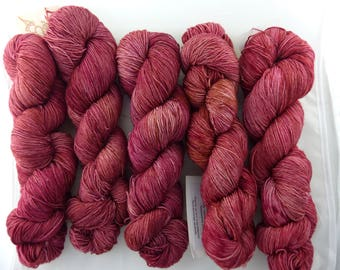 Virgin Wool handdyed