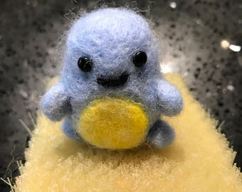 Needle Felted Squirtle Pokemon Starter