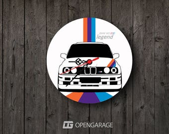 BMW Wall Clock - Home Decor