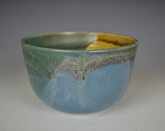 Multi-colored Porcelain Bowl