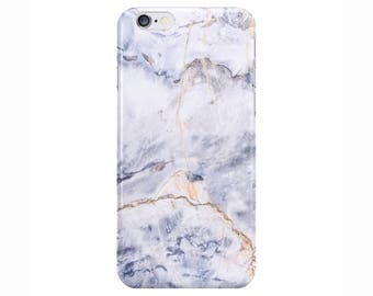 Blue Mountain Marble Phone Case Cover for Apple iPhone 5 5s 6 6s 7 8 Plus & Samsung Galaxy S6 S7 S8 Plus