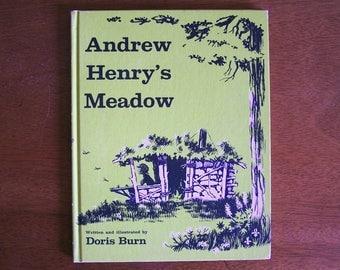 Andrew Henry's Meadow by Doris Burn - Weekly Reader Children's Book Club 1965 Vintage