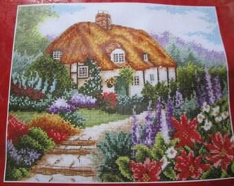 Point cross - Cottage Garden in Bloom