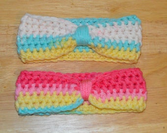 Toddler (1-3 Years) Crochet Headband Set