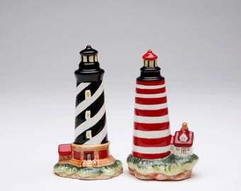 Lighthouse Salt and Pepper Shaker Set