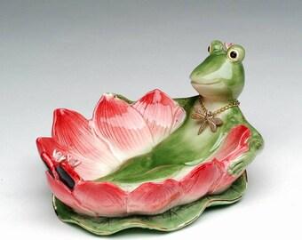 Frog Soap Dish (30130)