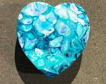 Jewelry box (Jewelry box) heart: Blue Jewelry I