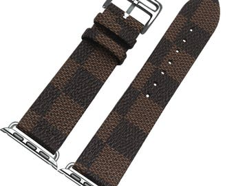 Leather Apple Watch band, 42mm, 38mm, Leather watch band, Apple watch strap, iwatch band Apple watch leather band, brown iwatch strap