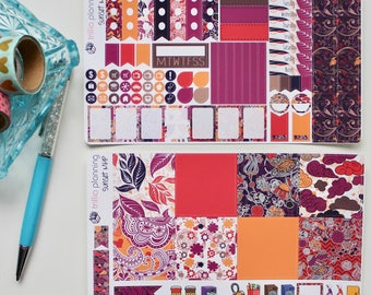 Sunset - Mini Happy Planner Weekly Kit