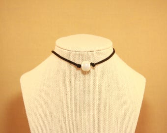 Black and White Cecelia Choker