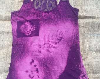 Dreamy Racer Back Lace Tank Top