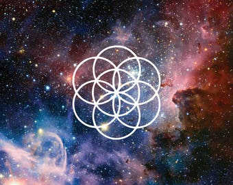Seed Of Life Sacred Geometry Vinyl Decal
