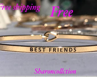 Theinspired bangle ( best friend )