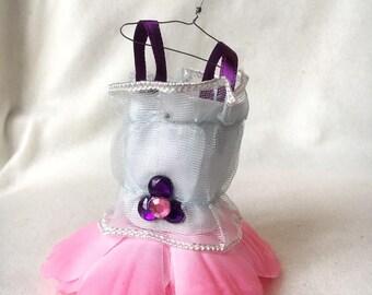 Fairy Dress; pink, white, purple, and light blue