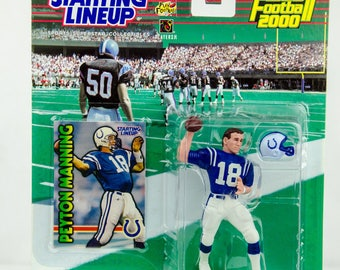 Starting Lineup 1999 NFL Indianapolis Colts Peyton Manning Action Figure