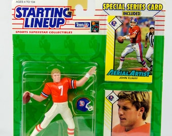 1993 Starting Lineup John Elway Denver Broncos Action Figure
